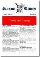 Saxon Times May 1066
