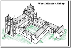 a Westminster Abbey Drawing HR - Shaded