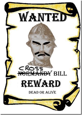 Wanted Dead or Alive v2 Cross Bill