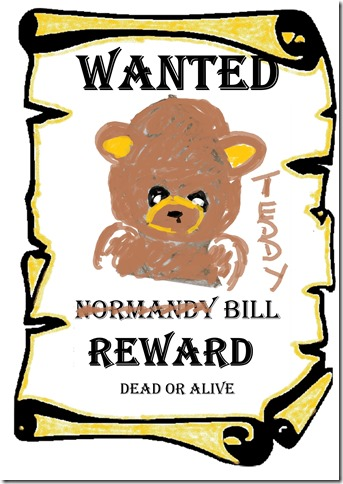 Wanted Dead or Alive v2 Teddy Bill