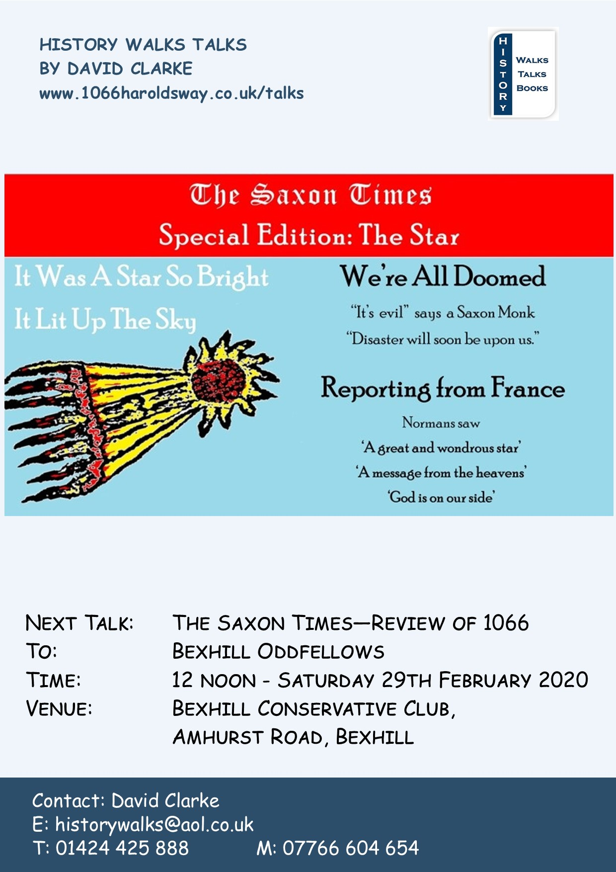 2020 Saxon Times Bexhill Oddfellows